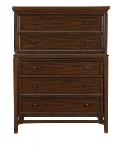Frazier Park Chest - Brown Cherry