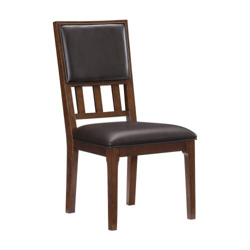 Frazier Side Chair - Brown Cherry