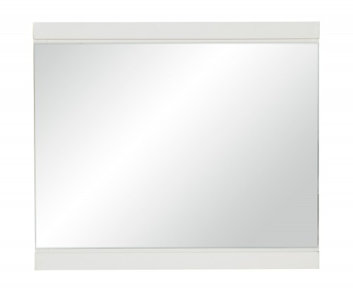 Kerren or Keren Mirror - White High Gloss