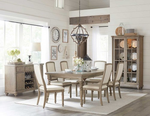 Grayling Dining Set - Driftwood Gray