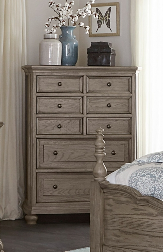 Lavonia Chest - Wire-Brushed