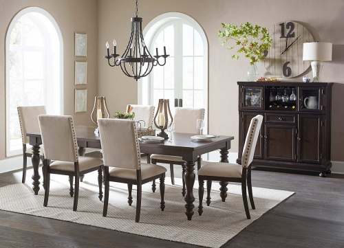 Begonia Dining Set - Grey