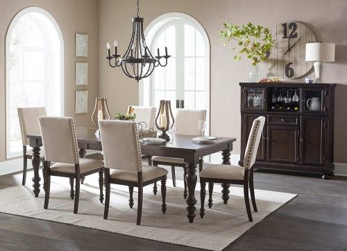 Begonia Dining Set - Grey
