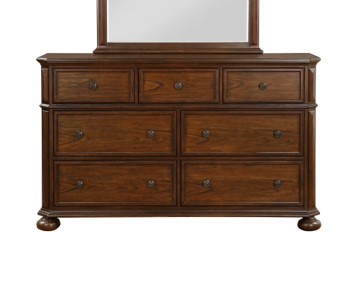 Langsat Dresser - Brown