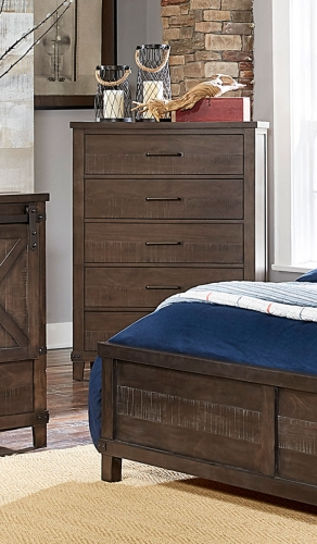 Hill Creek Chest - Rustic Brown
