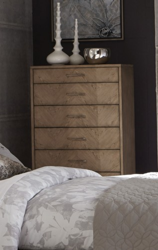Liatris Chest - Acacia Veneer with Gray Undertone