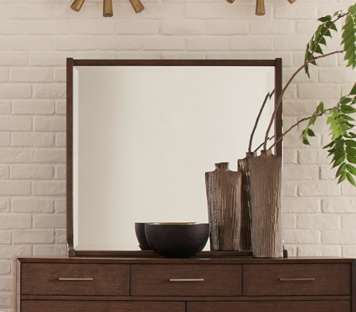 Ruote Mirror - Brown-Gray