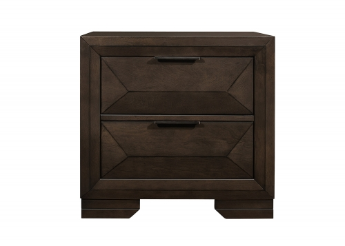 Chesky Night Stand - Warm Espresso