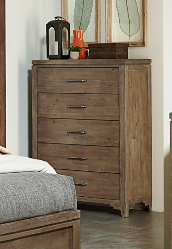 Lyer Chest - Rustic Brown