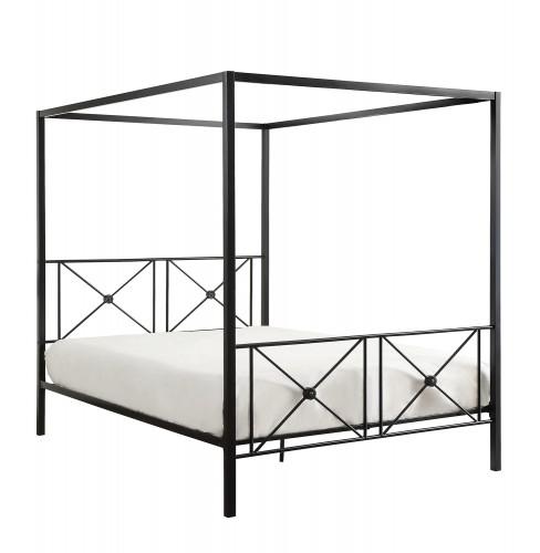 Rapa Canopy Platform Bed