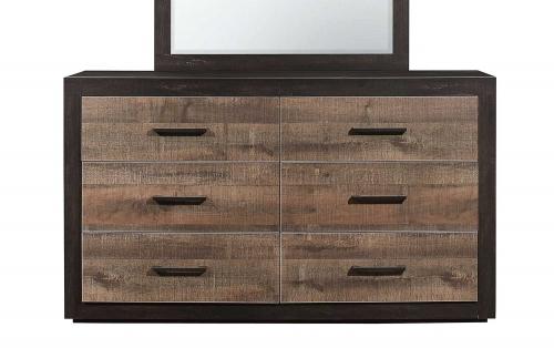 Miter Dresser - Mahogany & Ebony