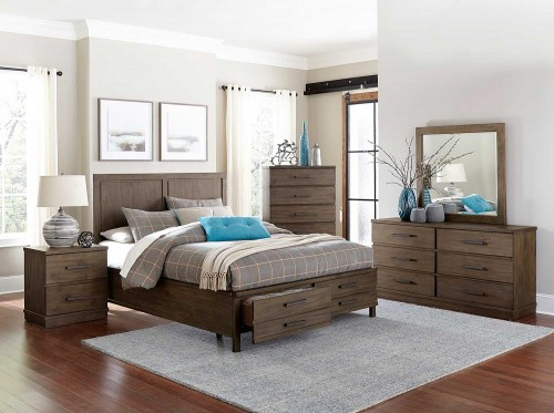 Bracco Bedroom Set - Brown