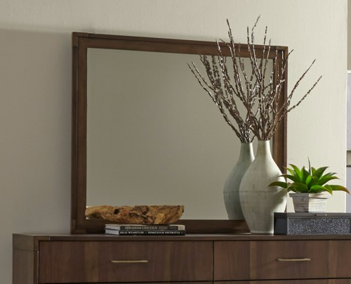 Gulfton Mirror - Walnut