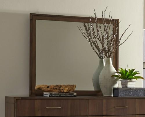 Gulfton Mirror - Walnut