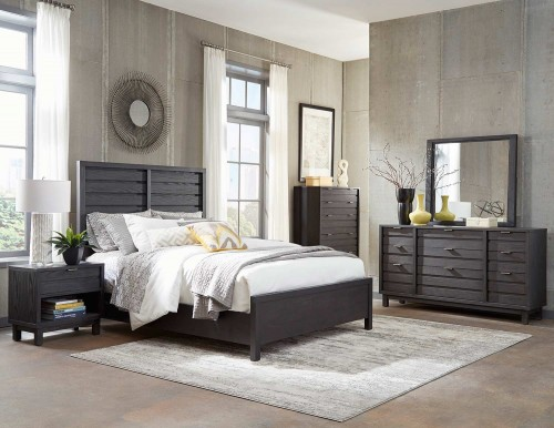 Robindell Bedroom Set - Ebony