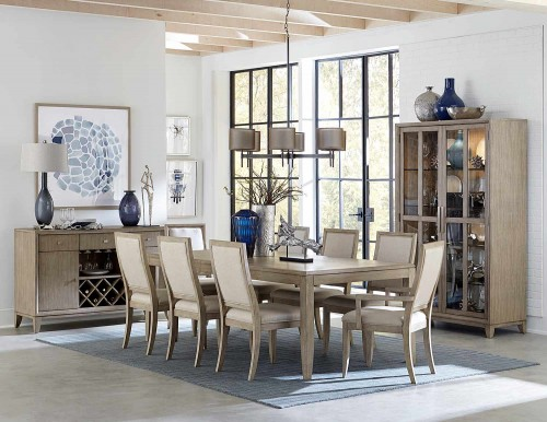 McKewen Dining Set - Light Gray