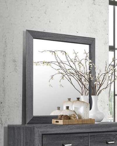 Beechnut Mirror - Gray