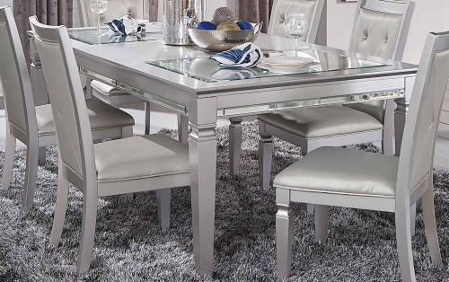 Allura Dining Table - Silver