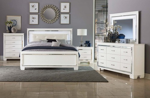Allura Bedroom Set - White