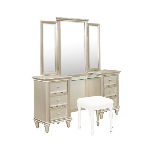 Celandine Vanity Dresser with Mirror
