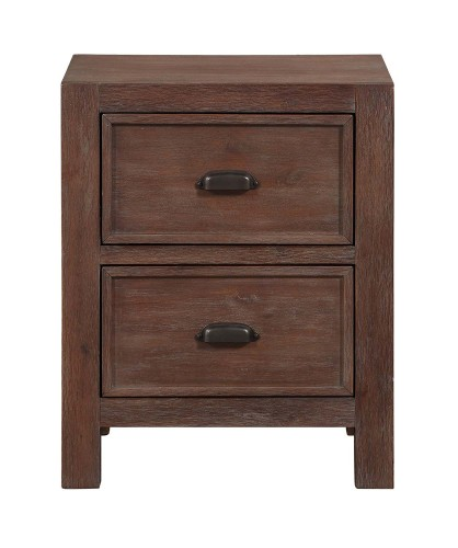 Wrangell Night Stand - Medium Cherry