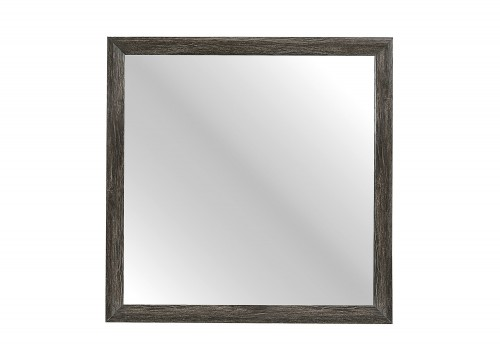 Edina Mirror - Brown-Gray