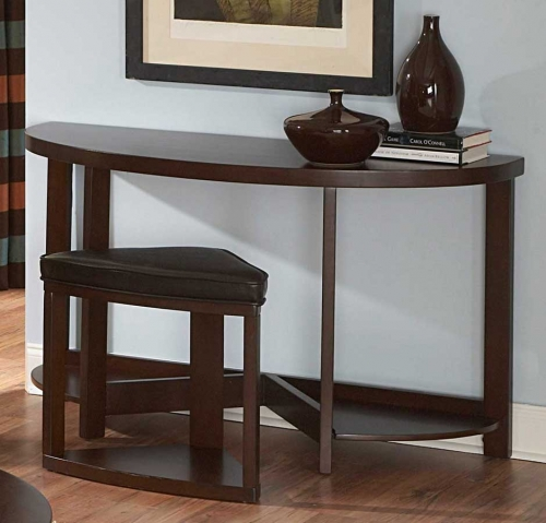 Brussel II Console Table with Stool