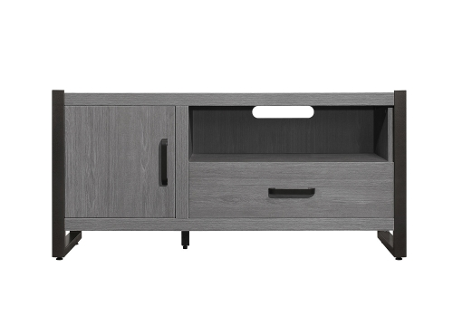 Dogue 51-inch TV Stand - Gunmetal - Gray