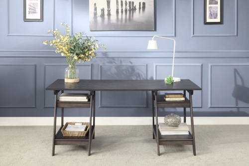 Hilles Writing Desk - Dark Charcoal