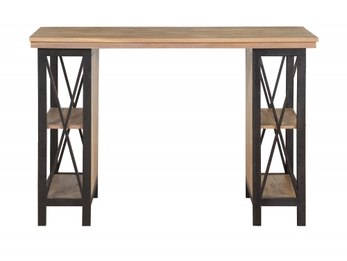 Penpoint Counter Height Writing Desk - Rustic