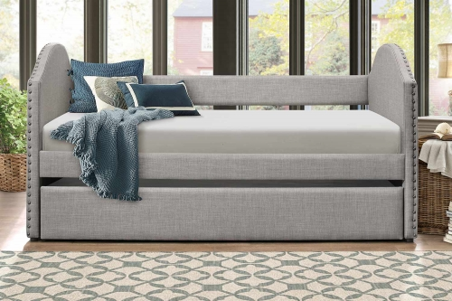 Comfrey Daybed with Trundle - Gray