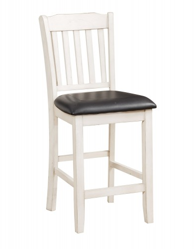 Kiwi Counter Height Chair - White Wash