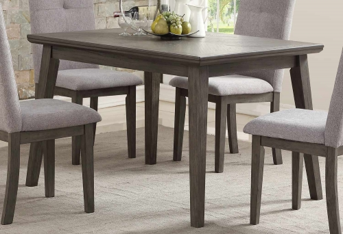 University Dining Table - Gray