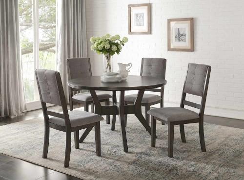 Nisky Dining Set - Gray