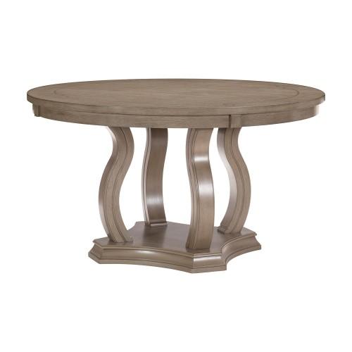 Vermillion Round Dining Table - Bisque