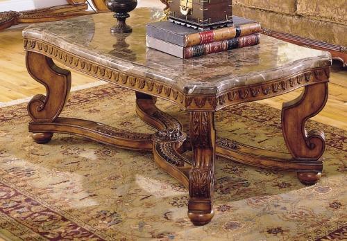 Tarantula Cocktail Table Marble Top