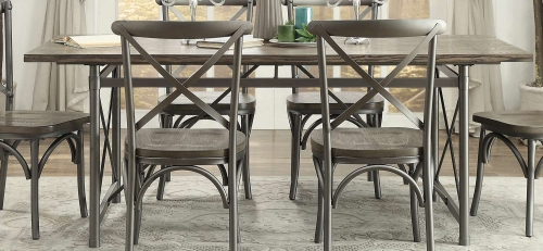 Springer Dining Table - Weathered Gray