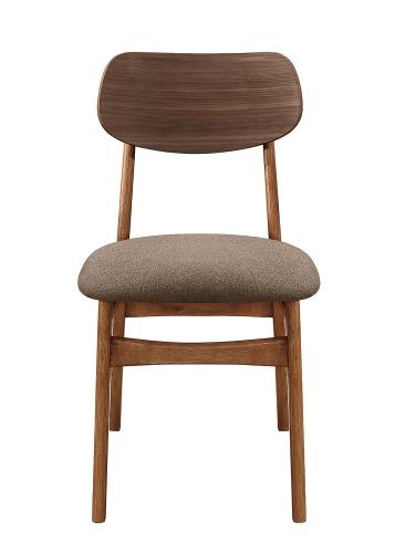 Paran Side Chair - Natural Walnut