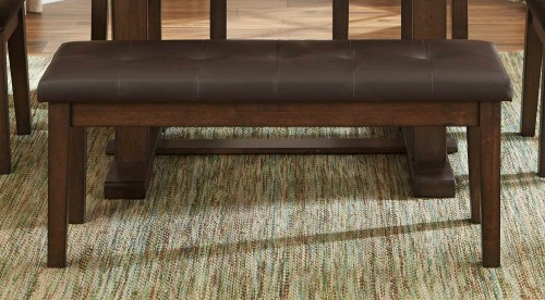 Wieland Bench - Light Rustic Brown