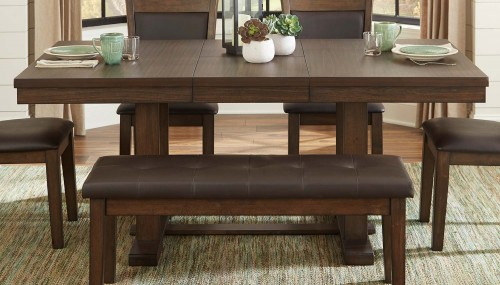 Wieland Dining Table - Light Rustic Brown