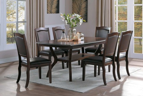 Whitby Dining Set - Cherry