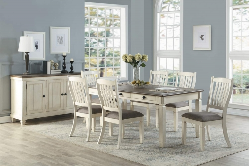 Willow Bend Dining Set - Antique White