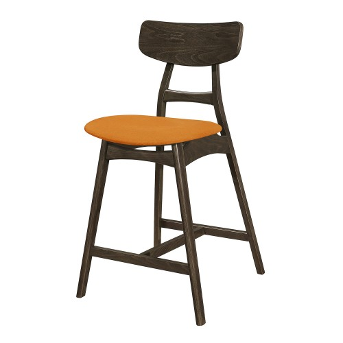Tannar Counter Height Chair - Orange