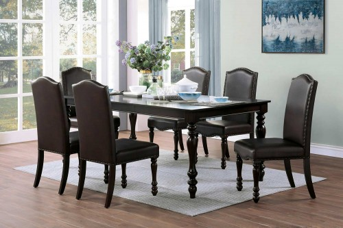 Hargreave Dining Set - Cherry