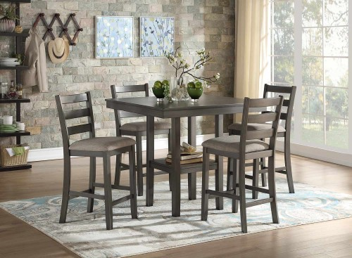 Sharon 5-Piece Pack Counter Dining Set