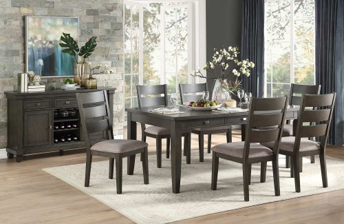 Baresford Dining Set - Gray