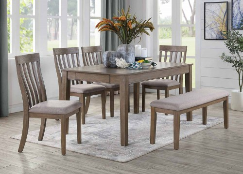 Armhurst Dining Set - Brown