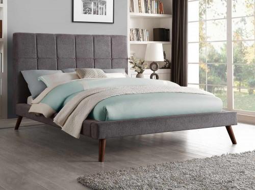 Kinsale Upholstered Bed - Gray