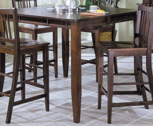Market Square Pub Dining Table wth Butterfly Leaf Extension-Home