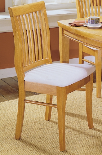 Liz Side Chair with Seat Cushion
